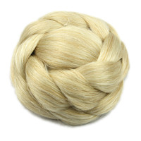 Wholesale chignon for sale - 6 Colors High Temperature Fiber Synthetic Hair Pieces Accessories Braided Chignon Hair Bun Donut