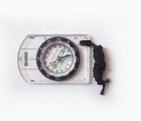 grundplattenkompasse großhandel-2016 neue Tragbare Mini Grundplatte Kompass + Karte Skala Herrscher für Outdoor Camping Wandern Radfahren Scouts freies verschiffen