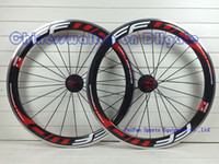 Wholesale Alloy Bicycle Wheel - FFWD fast forward durable alloy brake surface F5R 50 full carbon road bike wheels wheelset bicycle wheel front rear wheels lightest R13 hubs