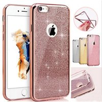 Wholesale rhinestone diamond cases for samsung phones online – custom 2 in Luxury bling case diamond rhinestone glitter back cover shockproof dropproof soft silicone tpu case for iphone plus smart phone
