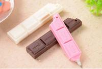 Wholesale Mobile Phone Chocolate - Chocolate Ballpoint Pen Creative pen gift  Mobile phone chain FreeShipping
