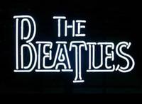 ingrosso batte il segno al neon-Segno al neon Beatles Logo Luce al neon Beerbar Segno Neon Beer Sign Neon Sign Vetro reale Neon Beer Display 19