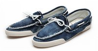 Wholesale Mens Canvas Loafers - Wholesale-2015 New arrival Low price Mens Zapato Del Boat Casual Shoes Jeans Canvas Slip On Flats Loafer Shoes-- Free shipping QT1