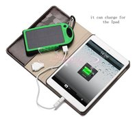 Wholesale Solar Charger Dhl - 4 colors 10400 mAh Ultra thin polymer solar energy power bank,mobile phone Ipad power station .DHL free shipping