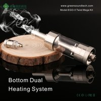 Wholesale Ego V Twist - V CORE III WHOLESALE GO WITH EGO II TWIST 2200MAH DUAL COIL ATOMIZER IN STOCK NOW GS TANK