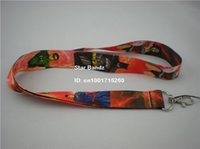 Wholesale Neck Lanyard Logo - Drop Shipping 1PC Printed Super Heroes Logo Polyester Lanyard, Work ID Card Neck Strap for Give Away Gift