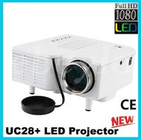 Proiettore Nuovo UC28 UC28 + mini proiettore projetor HDMI video gioco Proiettore digitale Pocket Home Cinema portatile LED Pico per 80