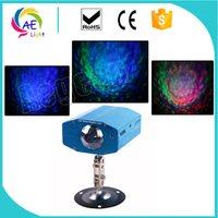 10W Stage Light Color che cambia Mini LED Water Wave Ripple Effect Lampada con controller per DJ Disco KTV Club Party Home Entertainment