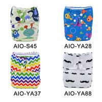 Wholesale Alva Washable - Alva Baby Pocket Diaper Reusable and Washable Cloth Diaper 10pcs lot
