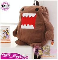Wholesale Domo Kun Bag Style - Wholesale-Mochila Infantil New Arrival Backpacks 2015 free Shipping Soft Domo Kun Plush Backpack Bag New for Xmas Gift Baby School Bags