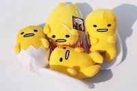 Wholesale Japanese Cartoon Plush Toys - New Sale 2015 18cm Japanese Anime Cartoon Gudetama Plush Toy Soft Doll Egg Gudetama Plush Dolls Toys 8 pcs 2 set