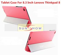 Wholesale Lenovo Thinkpad Tablet Cases - 2015 Newest Origin 1:1 Ultra Slim Stand Leather Case For 8.3 Inch Lenovo Thinkpad 8 Tablet Case For Lenovo Thinkpad 8