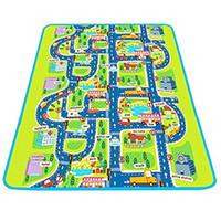 grand tapis de jeu pour bébé achat en gros de-10pcs grande taille pour bébé rampant tapis de jeu belle protéger contre tapis de jeu activité au sol glissante pour nourrisson enfants maman-infantile tapis de jeu