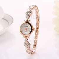 Wholesale Dress 77 - 77 Fashion Hot Selling Casual Luxury Bracelets Stainless Steel Luxury Wristwatch Watch Women Dress Electronics Lady Watch XR717