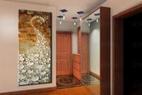 ingrosso pavone di pittura di tela di arte della parete-Pittura di pavone 100% dipinto a mano moderno coltello olio su tela dipinto di uccelli dipinti ad olio su tela di grandi dimensioni wall art immagini