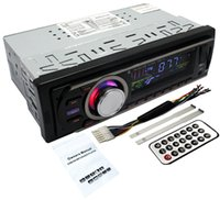 Wholesale Gmc Car Radio - RU Stokc Ship from Russia Pandamoto Car Multi-Functional Player New FM and MP3 Stereo Radio Receiver Aux with USB Port and SD CardSlot