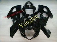 Wholesale Suzuki Gsxr Aftermarket Fairing Kit - AFTERMARKET FAIRING KIT for GSXR 1000 03-04 GSXR 1000 2003 2004 03 04 GSXR1000 GSXR1000 2003 2004 FULL BLACK