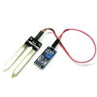 Wholesale Soil Hygrometer - Wholesale-1Pcs Soil Hygrometer Detection Moisture Sensor Module for Arduino with Probe Free Shipping VE093 P