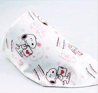 Wholesale Cars Bib - Multi designs Baby Bibs Triangle 2-layers snap fastener Cartoon Animals BIB Infant Car Baby Bibs & Burp Cloths wholesale bibs