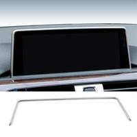 ingrosso gps per la serie bmw-Console interna per auto Navigazione GPS Schermo NBT Copertura cornice Accessori per BMW 1/2/3/4 serie 3GT F30 F31 F32 F34 F36 316i 320