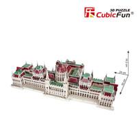 Wholesale Cubic Fun 3d - Wholesale-Cubic Fun 3D Puzzle Toys Hungarian Parliament Building Model MC111h Children's Gift