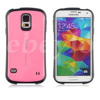 Wholesale Candy Color Mobile Case - New iFace Mall Candy Color Soft Cell Phone Case Dirtproof Protective Back Cover PC TPU Cases for Samsung Mobile Galaxy S5 i9600 Accessories