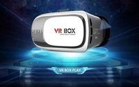 Wholesale vr box for sale - 2016 Hotest VR BOX Version D Smart Virtual Reality Glasses for D Game Movie for quot phone with Bluetooth Gamepad
