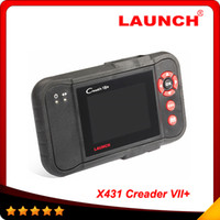 Wholesale Best Audi Diagnostic - X431 Scanner Launch Creader Professional Creader VII+ newest version best price high quality with same function of CRP123