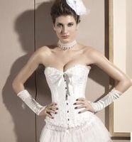 Wholesale Strapless Wedding Corset Slim - Dresses 2015 strapless corset brides maid dresses slim fit sexy short wedding dress DLM 5085