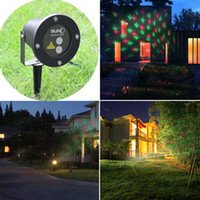 Wholesale Decorative Lights For Garden - Waterproof Outdoor Christmas Lights Elf Laser Projector,Red Green Moving lights Decorative laser light for stage,disco,club,wedding party
