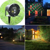 outdoor party entertainment - Waterproof Outdoor Christmas Lights Elf Laser Projector Red Green Moving lights Decorative laser light for stage disco club wedding party