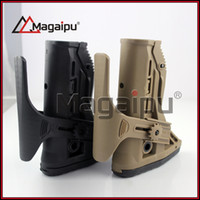 Wholesale Fab Defense - Magaipu Tactical FAB Defense Shock Absorbing Buttstock Adjustable Cheek Rest for M4 M16 airsoft