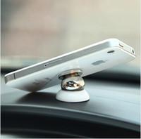 ipad saugständer großhandel-MINI-360-Grad-Auto-Mobiltelefon-Halter-Magnetischen Materialien magnetische Handy-Halter iPhone - /iPad-Ständer Starke Saugleistung BR-10005