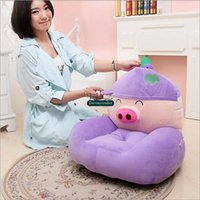 Dorimytrader 54cm X 45cm Giant Lovely Stuffed Soft Plush Cartoon McDull Porc Sofa Tatami, 6 modèles disponibles, Livraison gratuite DY60352