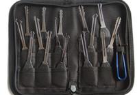 ingrosso forniture gratuite per fabbro-KLOM 15 pezzi Wafer Lock Rake Pick Set Set di picking kit di qualità superiore Forniture per fabbro Consegna gratuita in tutto il mondo