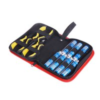Wholesale Rc Car Model Kit - 10in 1 Tool Kit Screwdriver Pliers set with Box for Align 450 Helicopter Plane RC Model Car Repair order<$18no track