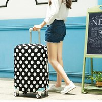 Wholesale Luggage Bag Fabric - Travel on Road Luggage Protector Cover Protective Suitcase cover Trolley case Travel Luggage Dust cover for 18 to 28 inch straps for bags