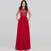 zuhair murad nude paillettenkleid großhandel-European Fashion New Dress Jewel Neck Gown Abend langes Kleid mit rosa rot grau blau Farben für Sie wählen Sie aus China