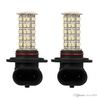 Phares Smd Pas Cher-2pcs Car H10 9140 9145 Brouillard Lampe à phare Ampoule Blanc 68 SMD LED Light 12V 400LM