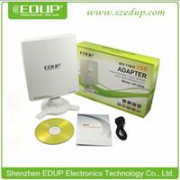 Wholesale Long Range High Sensitivity - EDUP EP-6506 54Mbps USB 802.11b g High-Power long range high sensitivity USB wireless Wifi adapter movable free HKPAM