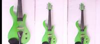 guitarra eléctrica de violín al por mayor-Envío gratis Tianyin marca 2015 nueva llegada cabeza de guitarra 7 cuerdas violín eléctrico 100% hecho a mano de alta calidad violín eléctrico