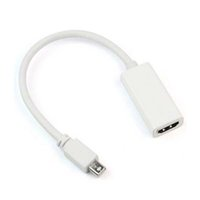 displayport hdmi toptan satış-Son Thunderbolt Mini DisplayPort MacBook Hava için HDMI TV AV HDMI Kablosu