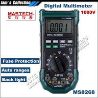 Wholesale Mastech Ms8268 Digital Multimeter - Mastech MS8268 Auto Range Digital Multimeter Full protection 1000V multimeter