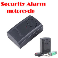 Wholesale Security Alarm For Laptops - by dhl or ems 100 pieces Wireless Vibration Alarm Remote Control for Door Window Motorcycle Bike Scooter Security,free shipping