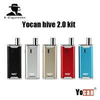 Wholesale Electronic Cigarette Juices - Origianl yocan hive 2.0 kit dry herb vaporizer 650mah Built-in battery For juice and concentrate vape pen electronic cigarette
