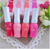 Wholesale pink lip tint for sale - Women Etude House Fresh Cherry Soft Matte Lip Cream Lipstick Makeup Charming Long lasting Daily Party tint Glossy Lipsticks Lip Gloss G