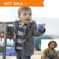 Wholesale Full Months - Baby Boys Jacket Clothes New Winter 2 Color Outerwear Coat Thick Kids Clothes Children Clothing With Hooded Retail Hot