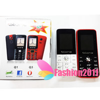 Wholesale Cheap Big Phone - Cheap Elder phone Q1 MP3 Camera Dual SIM Big Keyboard Loud Speaker 1.77Inch Color Screen Bluetooth Phone wholesale free DHL 002884