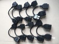 leitor de código do pino do carro venda por atacado-OBD 2 Cabo para K IA 20 Pin Para 16 Pinos OBD2 OBD Ferramenta de Diagnóstico Scanner Leitor de Código de Adaptador de Carro Cabo de Conector K IA 20Pin