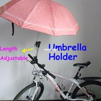 Wholesale Cheaper Stroller - Baby Stroller Umbrella Holder Bracket For Bicycle Bike Wheelchair Adjustable Good Quality Not the Cheaper one